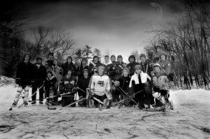 Pond Hockey at Silver Sticks